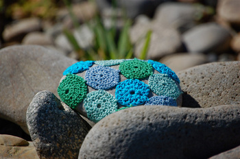 Bella Dia stone crochet by the river