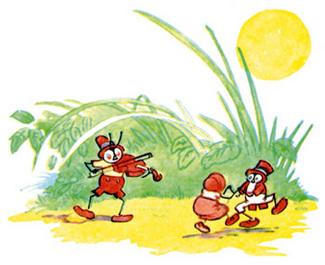 bugs dancing