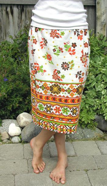 pillowcase skirt