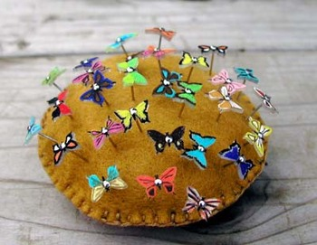 pretty pins butterflies