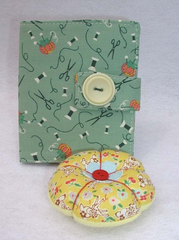 BT pincushion & needle book