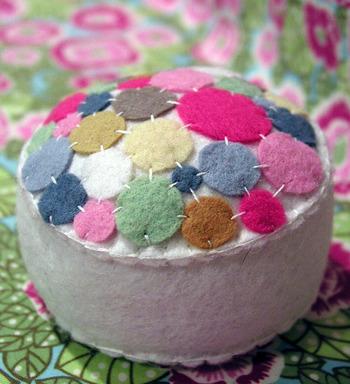 Bubbles pincushion