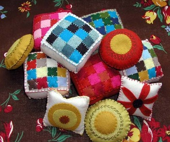 new quilt pincushions