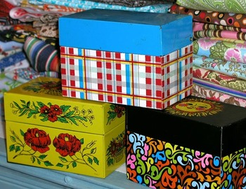 Vintagerecipeboxes