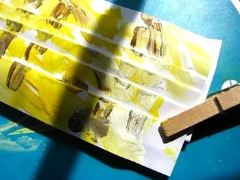Scrumdillydofoldedpaperpainting