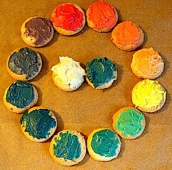 Pepperpaintscookiecolorwheel