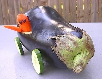 Eggplant_car