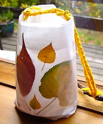 Gingerbreadleaflantern