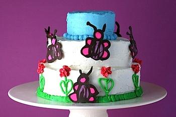 Bakerellachildillustratedbdaycake