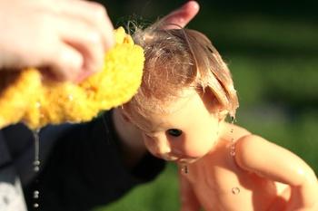 Jellybabyblogdollbathtiime