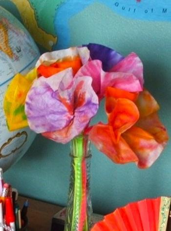 Easy Pre School Spring Crafts