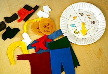 Scarecrow_felt_board_and_game