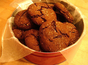 Gingermolassescookies