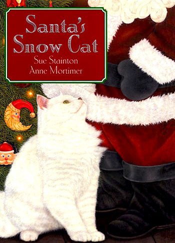 The Crafty Crow Santas Snow Cat craft