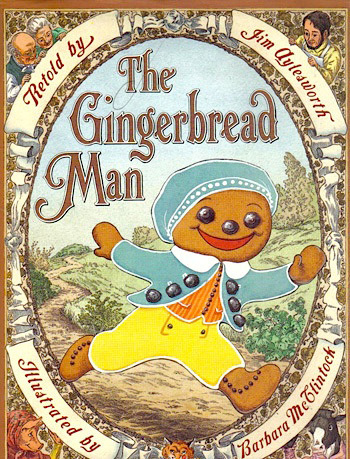 The Gingerbread Man book and craft idea