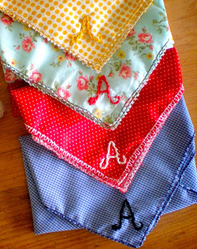 Grosgrainmonogrammedhankies
