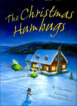 Christmas book and craft advent The Christmas Humbugs