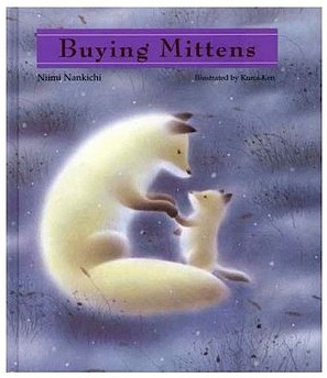 Buying Mittens Christmas book for kids
