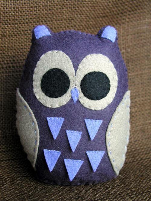 Owl Baby: Plum