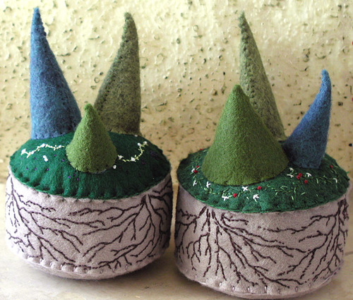 Middle Earth Pincushions