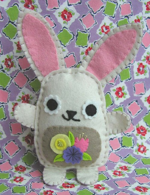 Blossom Bunny: cream with tan belly