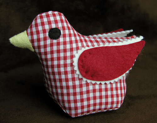 Pintail: Red Gingham