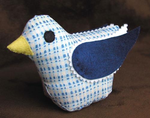 Pintail: Blue Plaid