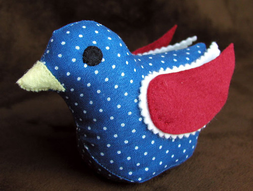 Pintail: Blue with Dot