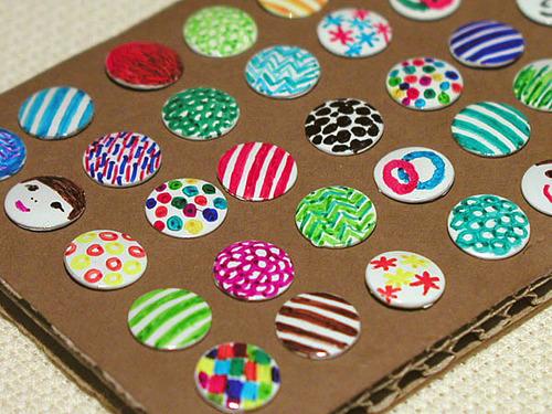 Decorated Thumbtacks
