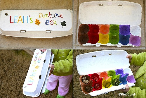Nature Box Things To Make And Do Crafts And Activities