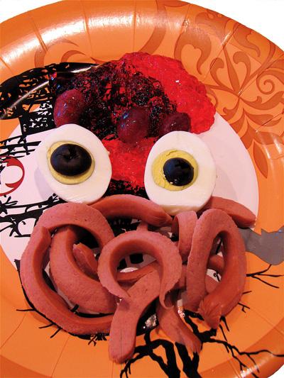halloween party food photo