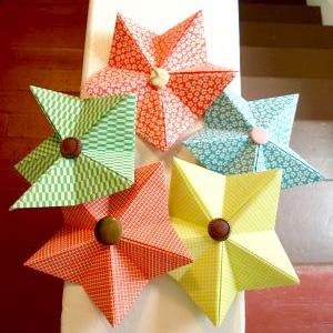 Bricolage de no l f esmaison - Origami de noel facile ...